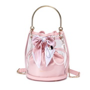 NUCELLE 2019 New Stylish Spring Jelly Bag Pink