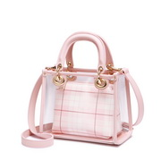 NUCELLE 2019 New Season Hot Selling Jelly Handbag Pink