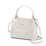 NUCELLE 2019 New Pearl Shiny Handbag White