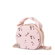 NUCELLE 2019 New Popular Printing Round Bag Pink
