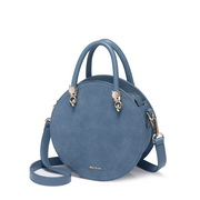 NUCELLE 2019 New Summer Fashion Frosted Shoulder Bag Blue