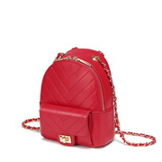 NUCELLE 2019 New Fashion Women Backpack Red