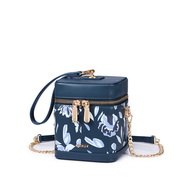 NUCELLE 2019 New Fashion Flower Box Bag Blue