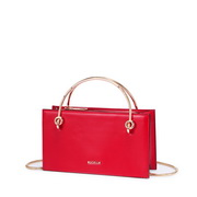 NUCELLE 2019 New Fashion Simple Women Shoulder Bag Red