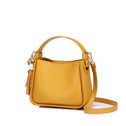 NUCELLE 2019 New Fashion Simple Style Bucket Bag Yellow