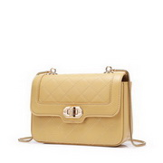 NUCELLE 2020 New Elegant Simple Style Shoulder Bag Yellow