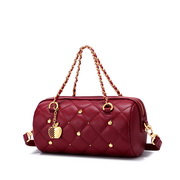NUCELLE 2020 Apple Design Lucky Color Women Shoulder Bag Red