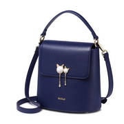 NUCELLE 2018 New Fashion Elegant Lady Shoulder Bag Blue