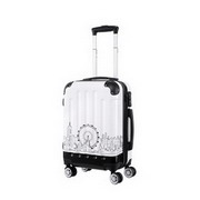 JUST STAR 2017 New Fashionable Traveling Luggage White 20inch