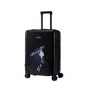 JUST STAR 2017 New Popular Good Quality Traveling Luggage 20inch Black