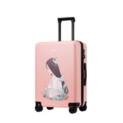 JUST STAR 2017 New Student Girls Luggage Pink 20inch