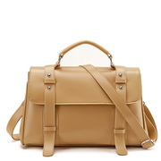 PU women messenger bag Apricot