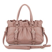 PU leather handbag Pink