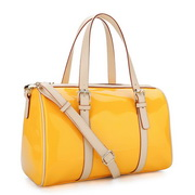 candy colors Modern handbag Yellow