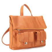 Multifunction Women PU Handbag  Orange