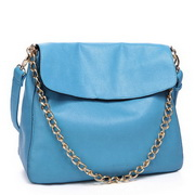 brand lady handbag Blue