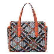 New Trend weave shoulder bag Orange
