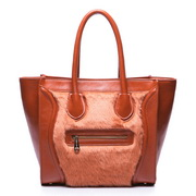 PU boston bag Orange