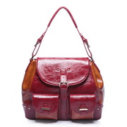 turkey handbag Red