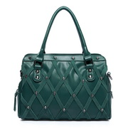 PU tote bag Green