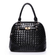 Weave Birkin women handbags Black