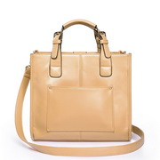 Double queen series bag Apricot