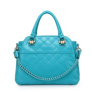 Fashion high quality PU handbag Blue