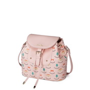 JUST STAR New fashion PU shoulder bag Pink