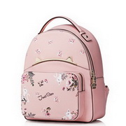 JUST STAR 2019 Latest PU Leather Cute Sweet Backpack Pink