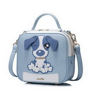 JUST STAR 2017 New Summer Lovely Pet Dog Shoulder Bag Blue