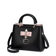 JUST STAR PU 2018 Women Travelling Handbag Black S