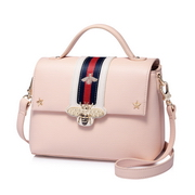 JUST STAR PU Leather 2018 New Hot Shoulder Bag Pink