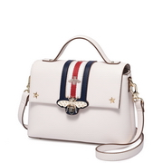JUST STAR PU Leather 2018 New Hot Shoulder Bag White