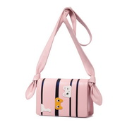 JUST STAR PU 2018 New Lovely Cute Cat Shoulder Bag Pink