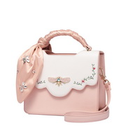 JUST STAR PU 2018 New Sweet Handbag Shoulder Bag Pink