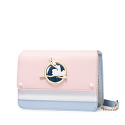 JUST STAR PU 2018 New Ballet Girl Shoulder Bag Pink