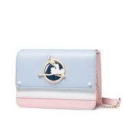 JUST STAR PU 2018 New Ballet Girl Shoulder Bag Blue
