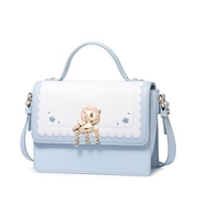 JUST STAR PU 2018 New Special Young Style Shoulder Bag Blue