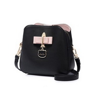 JUST STAR PU 2018 Hot Selling Bucket Bag Black