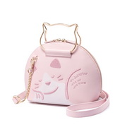 JUST STAR PU 2018 New Lovely Cute Shell Bag Pink