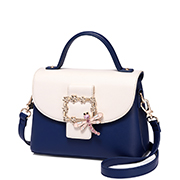 JUST STAR PU 2018 New Delicate Handbag Blue
