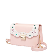 JUST STAR PU 2018 New Lovely Cute Girls Shoulder Bag Pink