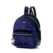 JUST STAR 2018 Winter New Girls Backpack Blue