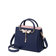 JUST STAR PU 2018 New Popular Handbag Blue