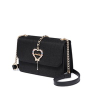 JUST STAR 2019 New Series Shiny Sweet Shoulder Bag Black