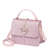 JUST STAR 2018 New Year Series Shiny Sweet Kelly Bag Pink