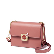 JUST STAR 2018 New Fashion Sweet Shoulder Bag Pink