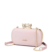 JUST STAR 2019 New Popular Beautiful Evening Bag Pink