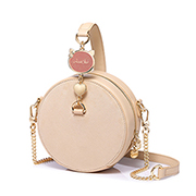 JUST STAR 2019 New Vintage Round Bag Apricot
