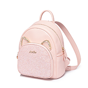 JUST STAR PU 2019 New Lovely Cute Backpack Pink